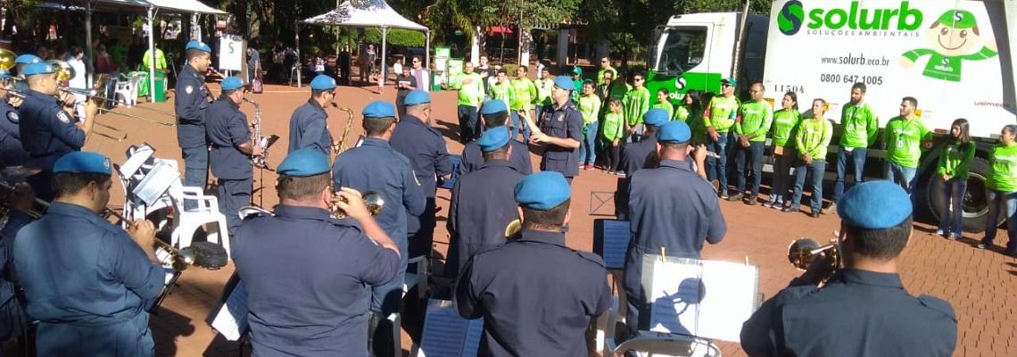 Solurb realiza 6ª Campanha Perfurocortante e movimenta Praça Ary Coelho